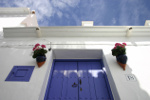 witte woning in Andalusie