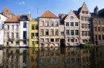 Vlaamse trapgevel huizen