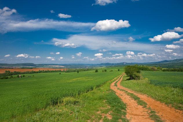 Platteland in Bulgarije