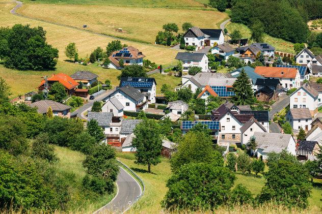 Dorp in Duitsland