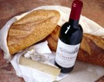 Franse taal: vin, pain, fromage