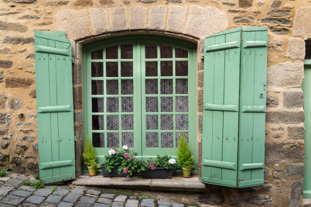 oud raam frankrijk