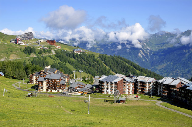 Appartementen in La Plagne