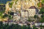 Gezicht op Rocamadour