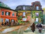 Aquarel Montmartre