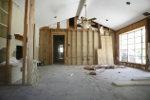 Renovatie woning tussenwand