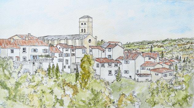 Montolieu in de Languedoc
