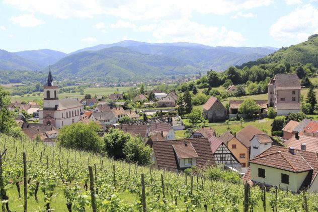 Frans dorpje in de Elzas