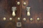 Oude deurklopper huis Frankrijk
