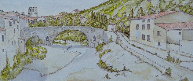 Het Franse platteland bij Lagrasse