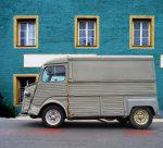 foto van oude Citroën H  HY bus