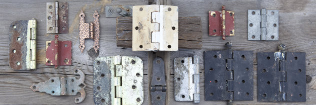 old locks and hinges