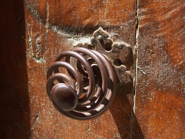 Oude franse deurknop