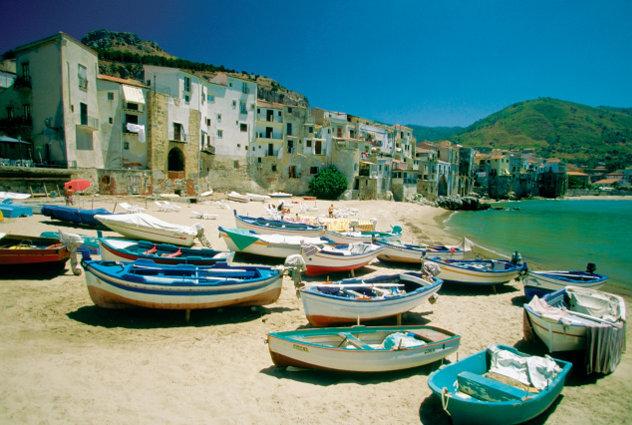 Haven dorp Kreta