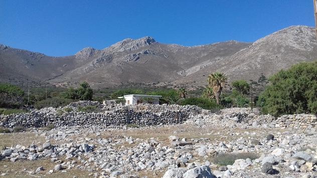 Huis op Grieks eiland Tilos