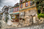 Oude huizen Griekenland