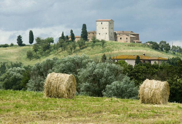 Toscaanse  platteland