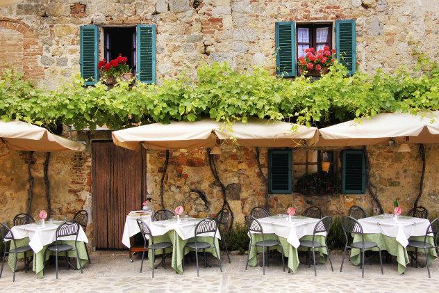 Terras restaurant  italie