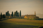 Toscaanse boerderij in de buurt van Pienza