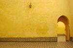 Doorgang in interieur in Marokkaans-Arabische stijl