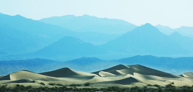 Heuvels in woestijn Marokko