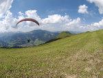 paraglider in Oostenrijk