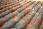 Veelkleurige dakpannen