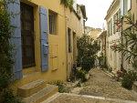 straatje in Portugese stad