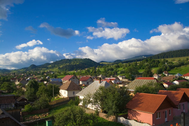 rumänisches Dorf