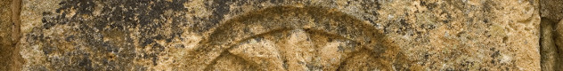 Kruis in  steen  Sarlat Frankrijk