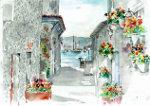 Spaans dorp met haven