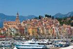 Haven met boten in de Middellandse Zee