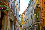 straatje in Spaanse stad