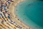 Strand aan de Spaanse Costas