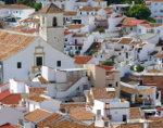 Spaans dorp witte huizen