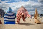 Spanje Bailando en la playa