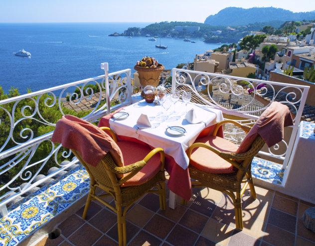 Restaurant op Mallorca