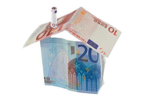 Huis van papiergeld