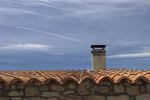Dak van een huis in Spanje