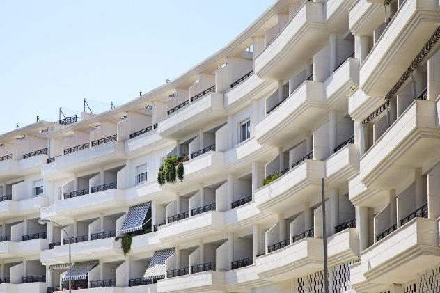 Appartementen complex Calpe Spanje