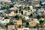 turkse huizen in stadje