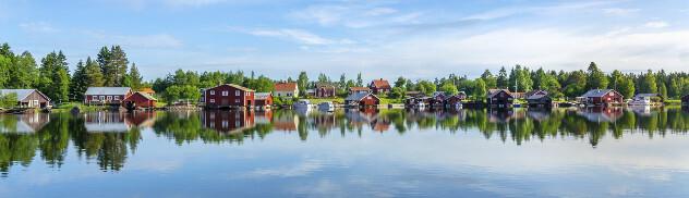 vakantiewoningen  aan Zweedse kust